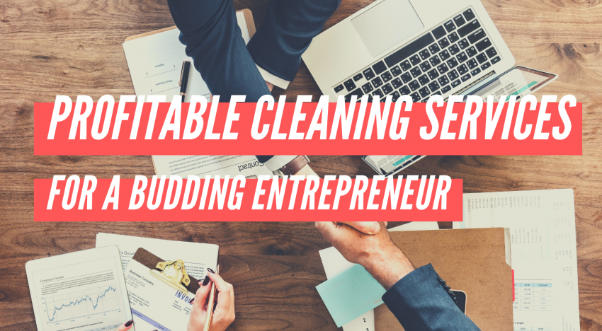 4 Profitable Cleaning Services for a Budding Entrepreneur